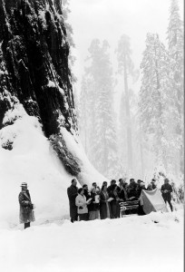 Ceremony at the base of the Nation's Christmas Tree - 1931