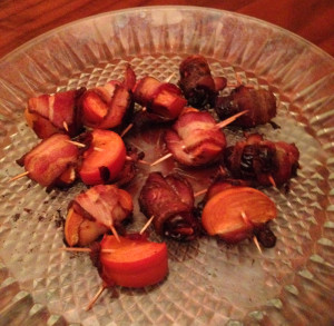 bacon-wrapped-persimmons