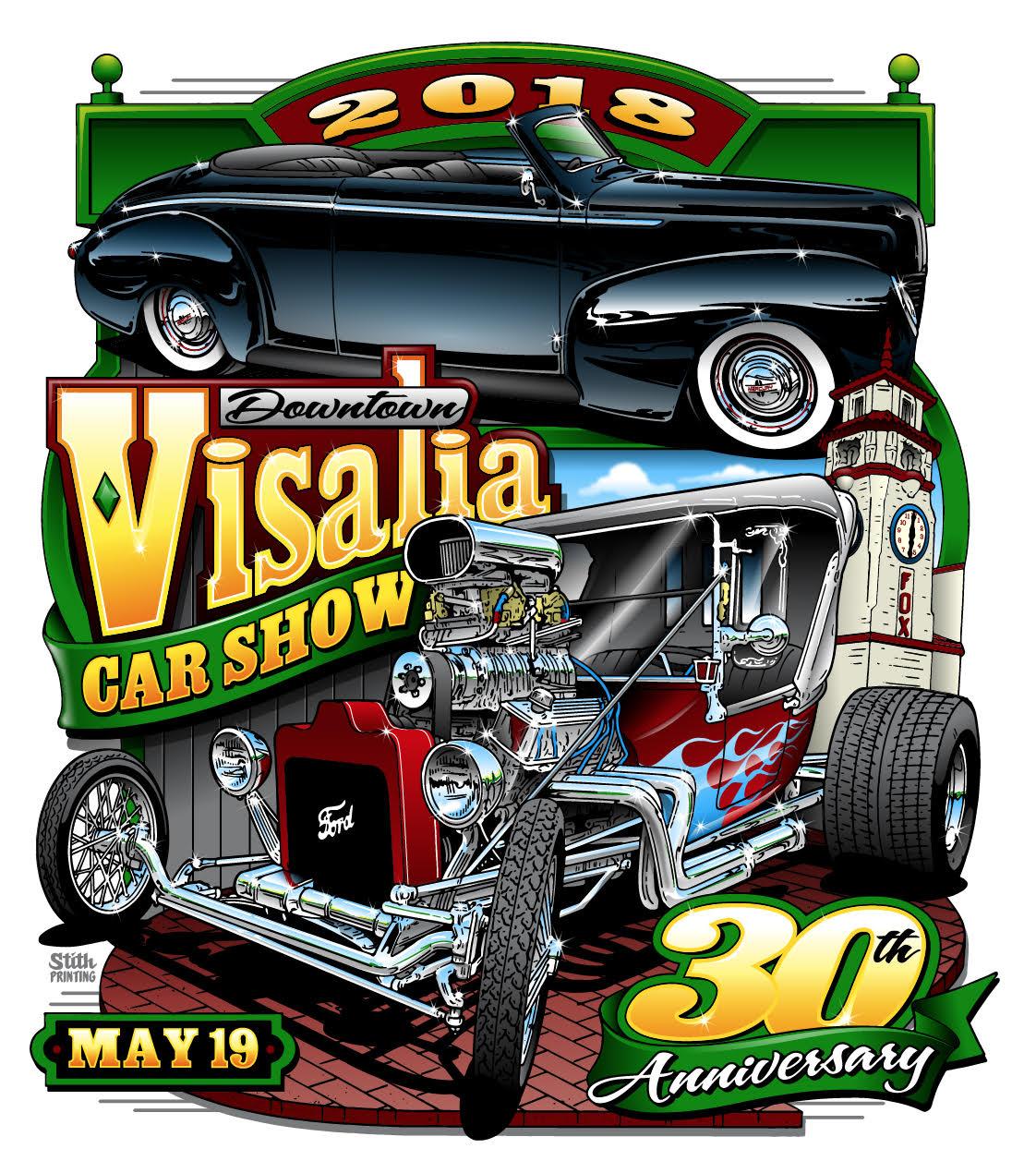 Downtown Visalia Th Annual Car Show ValleyPBS - Car show downtown